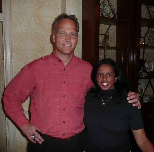Coach Richt and I at the April 2008 Touchdown Club of Athens meeting.