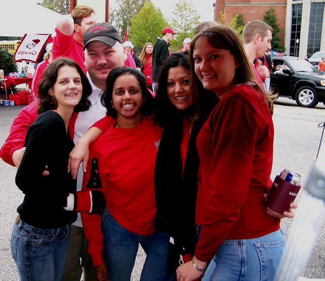 Throwback pre-game tailgating. Unfortunately, this was a loss... Georgia vs Auburn, 2004