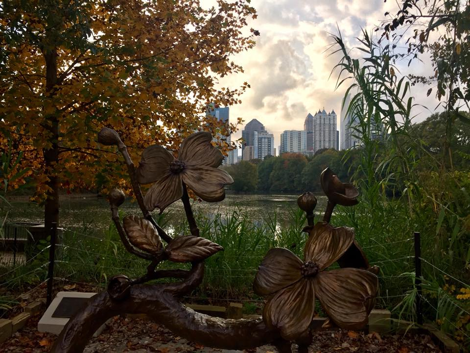 Piedmont Park in the fall