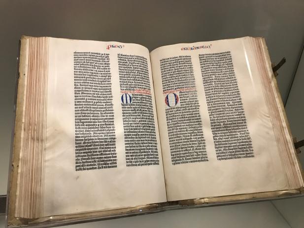 Gutenberg Bible, LOC (2)