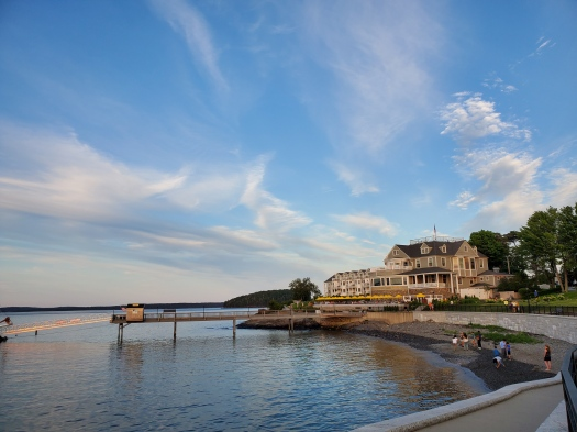 Waterfront at Bar Harbor, Maine