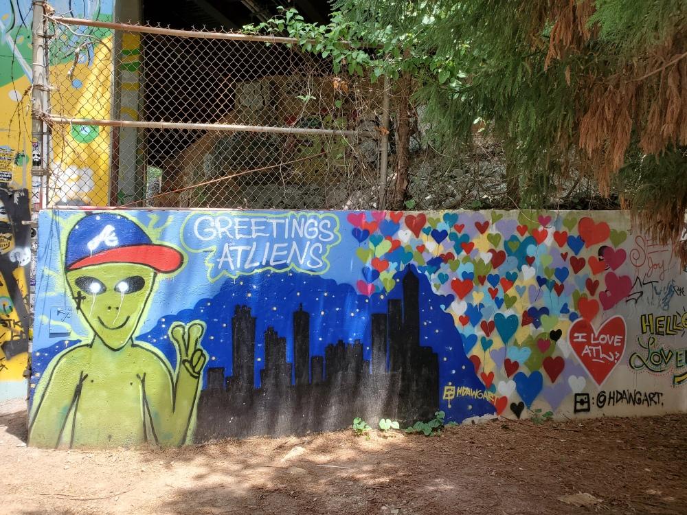 Mural on Eastside BeltLine