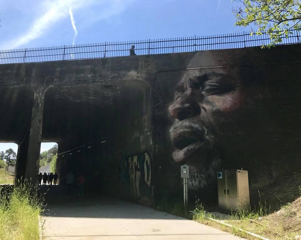Mural on Westside BeltLine