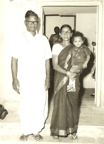Sarat & Meka Grandparents Jan 77