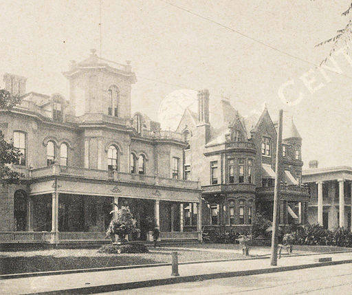 Capital City Club Harris Street, 1895