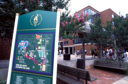 Georgia Tech Campus during the 1996 Olympics